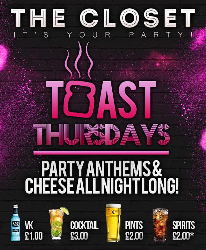 Toast Thursdays